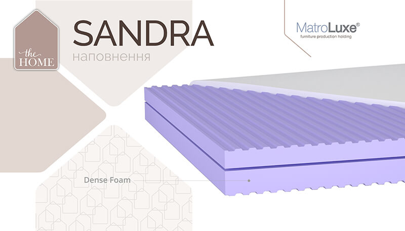 Матрас Сандра The Home Matroluxe